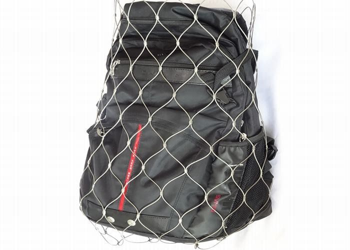 SS304 / SS316 Anti Theft Backpack Mesh With 1.2mm-3.2mm Wire Diameter